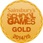 Sainsbury's School Games Gold Award