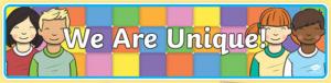 we are unique