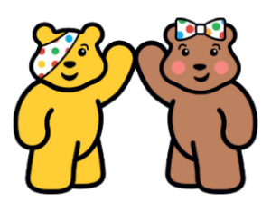 Children in Need Pudsey & Blush