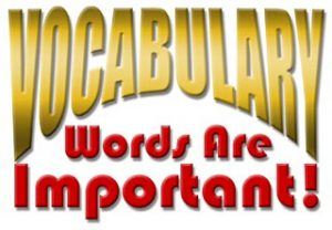 vicabulary