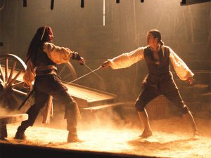 Sword-Fight pirates of caribbean