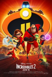 Popcorn Club Film INCREDIBLES 2