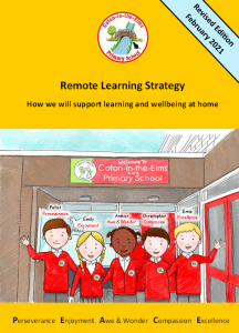 Remote Learning Strategy Booklet cover (Revised Edition)