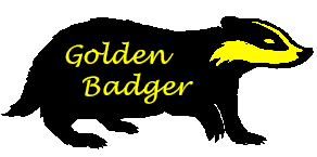 Golden Badger Logo